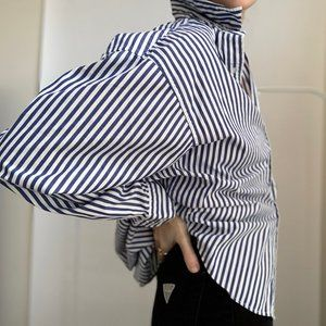 Vintage Classic Stripe Pocket Button Up